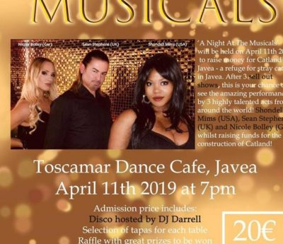 A night at the musicals, Javea, April 11th