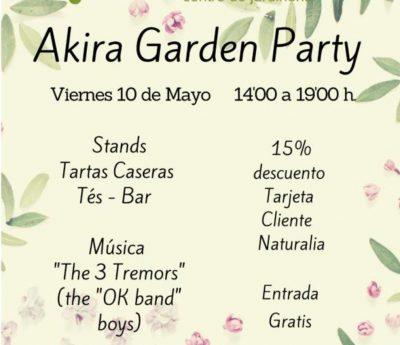 Garden party, Teulada, May 10th