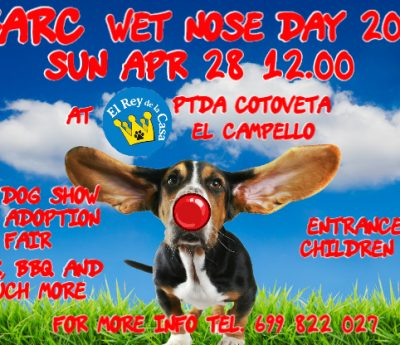 BARC wet nose day, April 28th