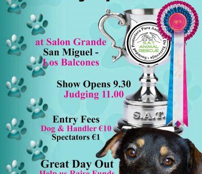 SAT dog show, April 28th, Torrevieja