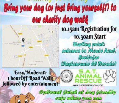 Charity dog walk, May 26th, Benijofar, Torrevieja