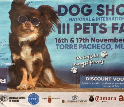 Dog show, Murcia, Nov 16-17th