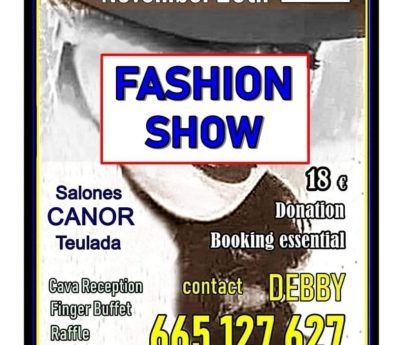 Fashion show, Teulada, Nov 20th