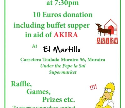 Quiz night, Moraira, Jan 15th
