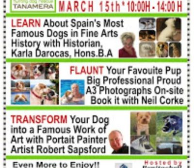 Dog day fundraiser, March 15th, Benitachell
