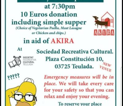 Quiznight, Teulada, Sept 24th